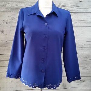 Willow RIdge Knit Top Blouse Career Blazer